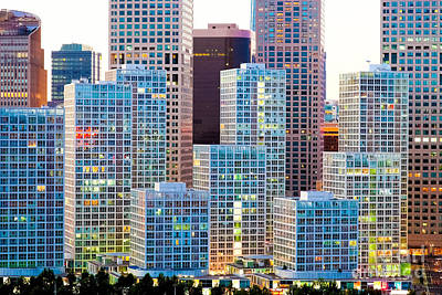 Beijing Central Business District Art Print