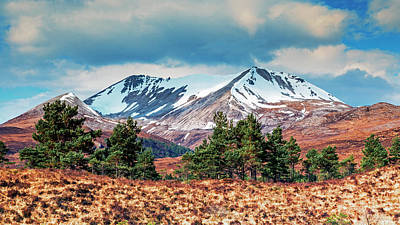 Photograph - Beinn Eighe by John Frid