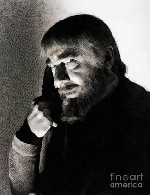 Pineapple - Bela Lugosi, Hollywood Legend by Esoterica Art Agency