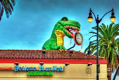 Photograph - Believe It Or Not Dinosaur by David Zanzinger