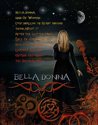 Digital Art - Bella Donna by Michael Damiani