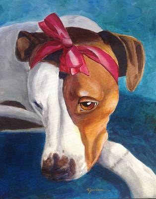 Bella Art Print by Marilyn Jacobson
