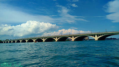 Photograph - Belle Isle Bridge by Michael Rucker