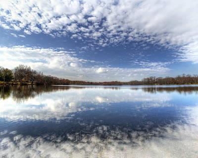 Belmont Lake State Park Wall Art - Photograph - Belmont Lake Reflections by Vicki Jauron