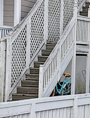 Photograph - Below Stairs by Linda Brown