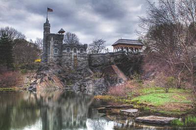 Castle Photograph - Belvedere Castle  by Ariane Moshayedi