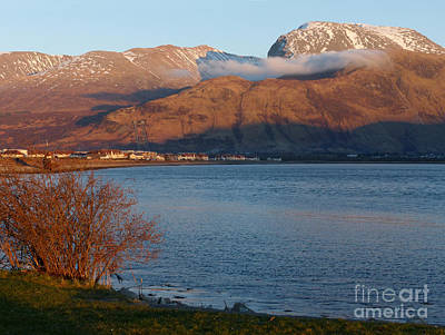 Ben Nevis From Corpach Art Print by Phil Banks