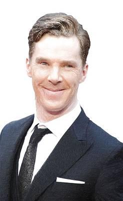 Benedict Cumberbatch Portrait Art Print by Best Actors