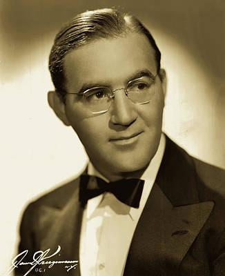 Photograph - Benny Goodman 1942 by James J Kriegsmann