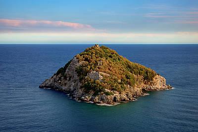 Photograph - Bergeggi Island by Enrico Pelos