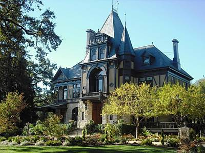 Photograph - Beringer Brothers Winery Saint Helena by Kelly Manning