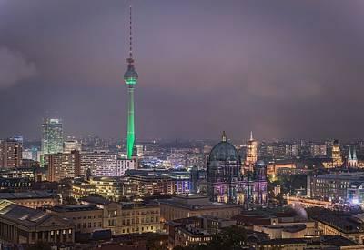 Landmark Digital Art - Berlin by Maye Loeser