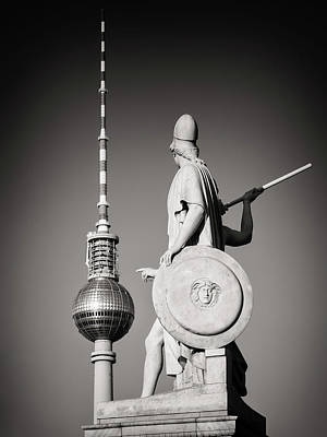 Berlin Photograph - Berlin - Tv Tower by Alexander Voss