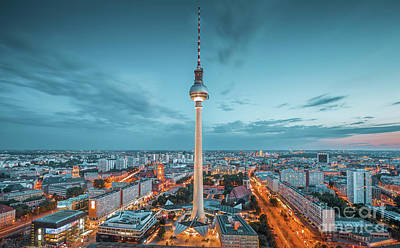 Photograph - Berlin Twilight by JR Photography
