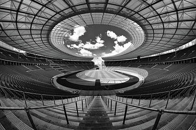 Berlin's Olympic Stadium Art Print