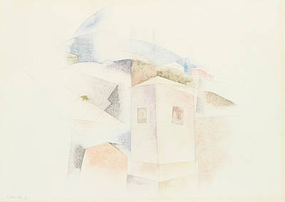 Bermudas Drawing - Bermuda No. 4 by Charles Demuth