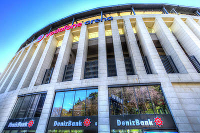 Photograph - Besiktas Jk Stadium  by David Pyatt