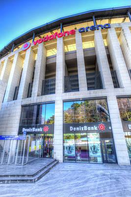Photograph - Besiktas Jk Stadium Istanbul Turkey by David Pyatt