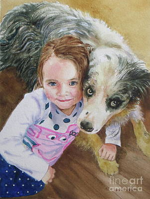 Painting - Best Buddies by Karol Wyckoff
