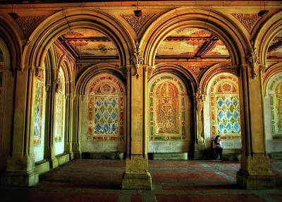 Art Print featuring the photograph Bethesda Terrace Arcade by Jessica Jenney