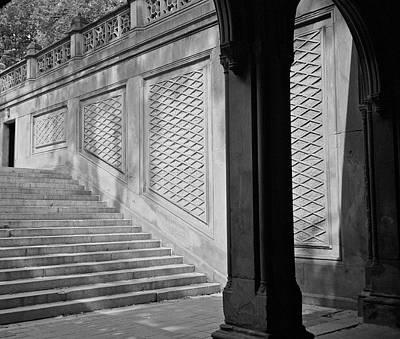Photograph - Bethesda Terrace by Cornelis Verwaal