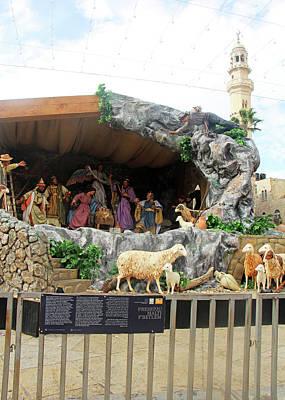 Photograph - Bethlehem Nativity  by Munir Alawi