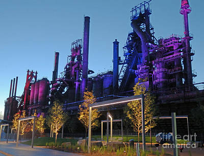 Photograph - Bethlehem Steel # 16 by Marcia Lee Jones