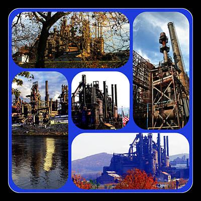 Photograph - Bethlehem Steel Composite by Jacqueline M Lewis
