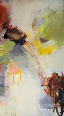 Expresion Painting - Bettween by Ira Ivanova