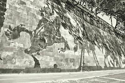 Photograph - Between The Bridges by JAMART Photography
