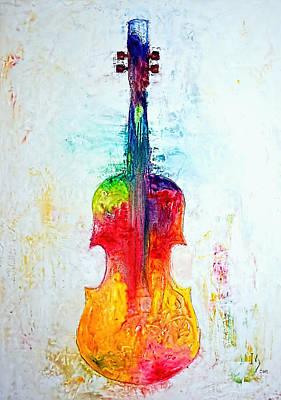 Beyond The Strings Original by Ivan Guaderrama