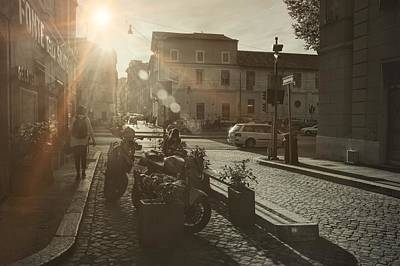 Photograph - Beyond The Tiber Trastevere by JAMART Photography