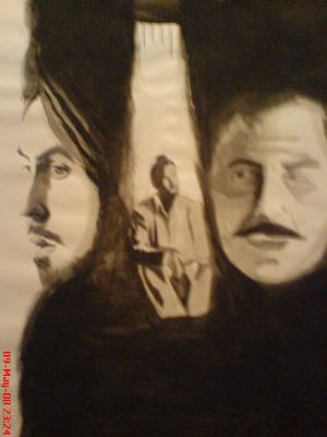 Intezaar Painting - Bhagat Singh by Sandeep Kumar Sahota