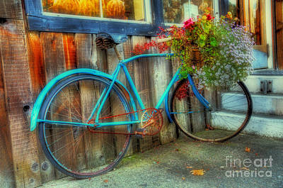 Photograph - Bicycle Art 1 by Bob Christopher