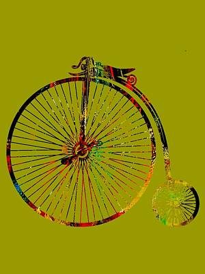 Mixed Media - Bicycle Collection by Marvin Blaine