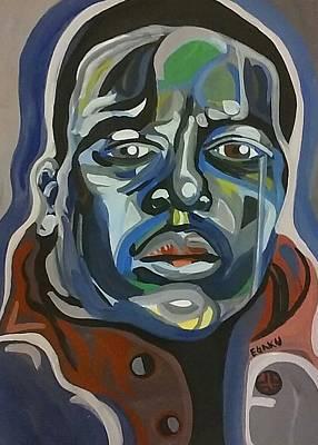 Hop Drawing - Big Rap by James Egaku