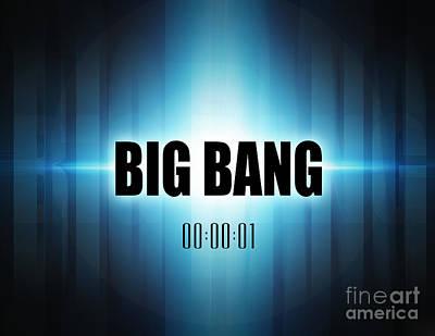 Digital Art - Big Bang by Phil Perkins
