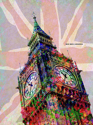 Digital Art - Big Ben by Gary Grayson