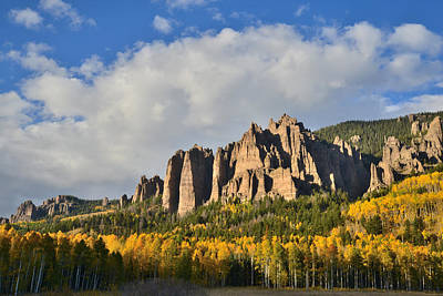 Photograph - Big Cimarron Castle by Ray Mathis