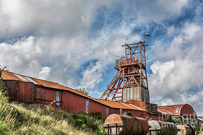Photograph - Big Pit by Steve Purnell