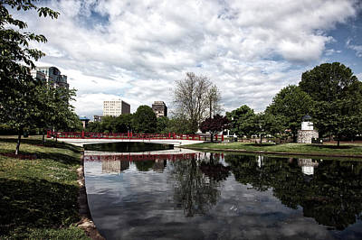 Downtown Huntsville Photograph - Big Spring Park by Mountain Dreams