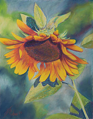 Painting - Big Sunflower by Billie Colson