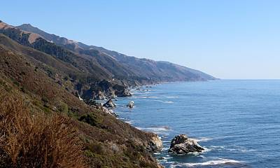 Photograph - Big Sur Coastline  by Christy Pooschke