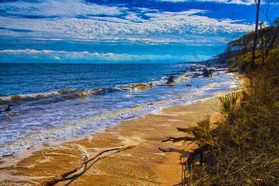 Photograph - Big Talbot Island Beach by John M Bailey
