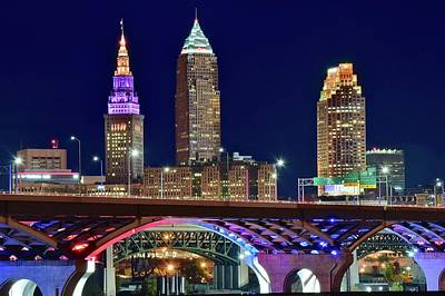 Photograph - Big Three In Cle by Frozen in Time Fine Art Photography