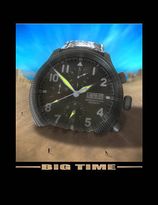 Big Time Art Print