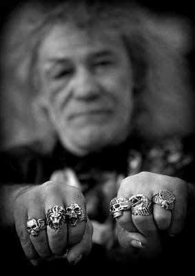 Photograph - Bikers Rings by Douglas Pike