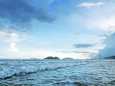 Photograph - Binh Hai Beach, Quang Ngai by Tran Minh Quan
