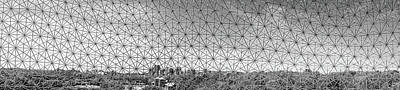 Photograph - Biosphere Montreal Skyline by For Ninety One Days