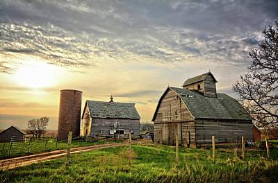 Photograph - Birch Avenue Farm by Bonfire Photography